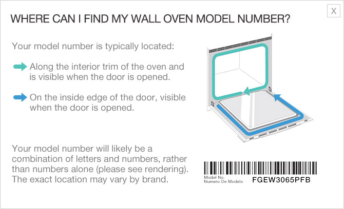 Frigidaire Fit Tool Model Number Location